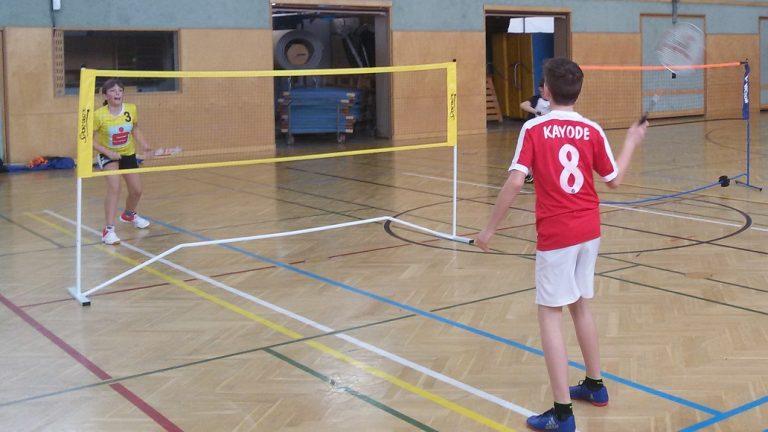 "Themenfach ""Badminton"""