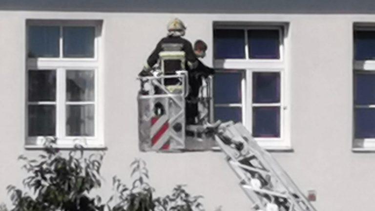 Tatü-tata! Die Feuerwehr war da!